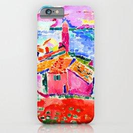 Henri Matisse Les toits de Collioure iPhone Case