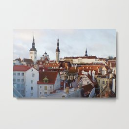 Historic Tallinn, Estonia Metal Print
