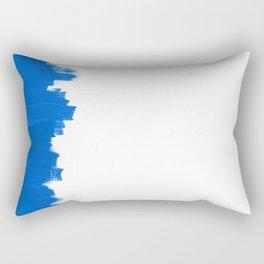 Blue Balance Rectangular Pillow