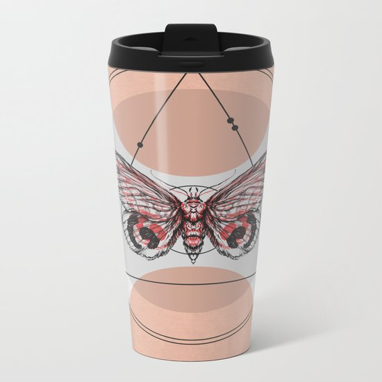 Butterfly Effect Metal Travel Mug