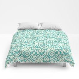 lezat turquoise Comforters