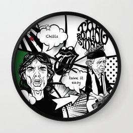 comics 3 Wall Clock