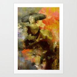 The sybil Art Print