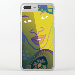 Shaman of the Healing Sounds Clear iPhone Case