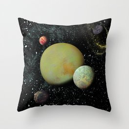 Ethereal Version II Throw Pillow