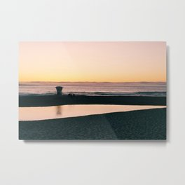 Along the Shore Metal Print