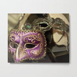Mardi Gras Masks Metal Print