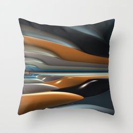 Streamliner no. 2 Throw Pillow