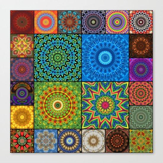 Mandala Madness Canvas Print