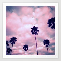 More Palms II Art Print