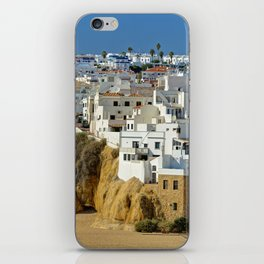 Albufeira old town, Portugal iPhone Skin