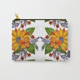 Watercolor sunflower Carry-All Pouch