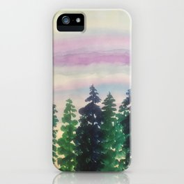 A clear day iPhone Case