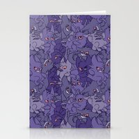 gengar Stationery Cards featuring Gengar invasion! by inki