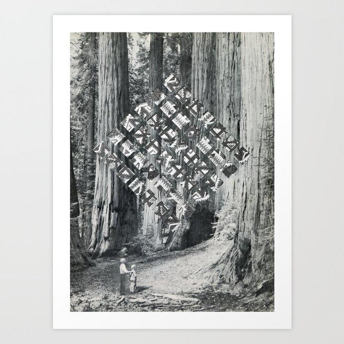 wonder without Art Print
