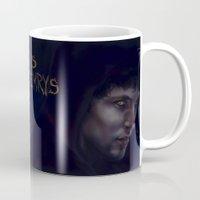merlin Mugs featuring Merlin Emrys by Julian