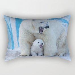 Bear polar cub Rectangular Pillow