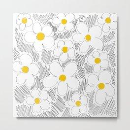 Wild daisy Metal Print