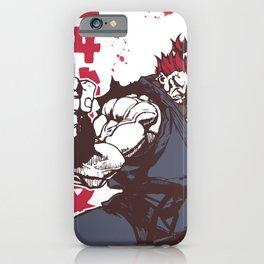 Akuma Gouki street fighter iPhone Case