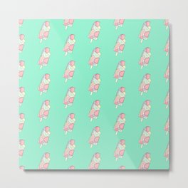 FRUITY POP ((pastels on pastel emerald)) Metal Print