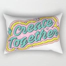 Create Together Rectangular Pillow