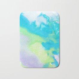 watercolor monsters Bath Mat