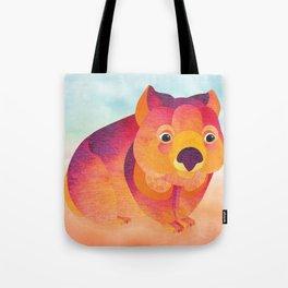 Shanti Sparrow: Jessie the Wombat Tote Bag