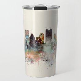 pittsburgh city skyline Travel Mug