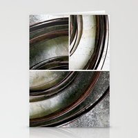 metal Stationery Cards featuring Metal by Erica Schiavi