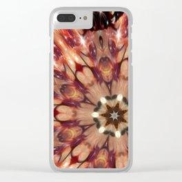 Halle Carpet Mandala Clear iPhone Case