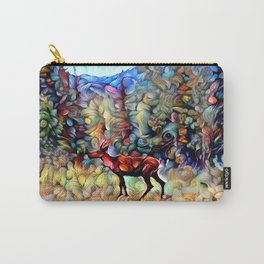 Dreamy Caribou Carry-All Pouch