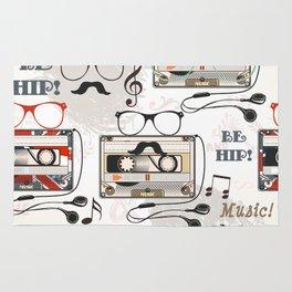 Hipster design pattern Rug