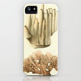 Naturalist Coral iPhone Case