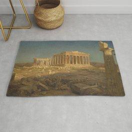The Parthenon by Frederic Edwin Church Rug