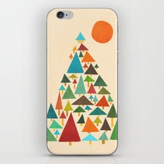 The house at the pine forest iPhone & iPod Skin