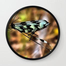 Lacewing Wall Clock