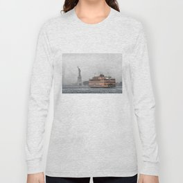 Liberty & The Boat Long Sleeve T-shirt