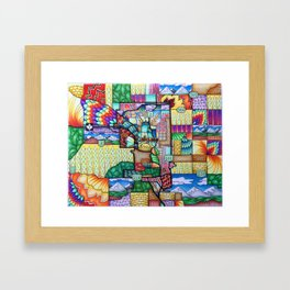 City of Calgary Framed Art Print