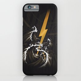 Electric Guitar Storm iPhone Case
