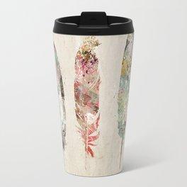 pop art feathers Travel Mug