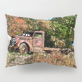 Old Trucker's Ride - Big Rig Truck Pillow Sham