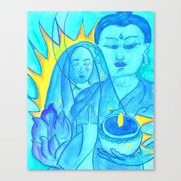 La Lupe Buddha Canvas Print