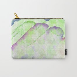 Watercolor Mountains Abstract Carry-All Pouch