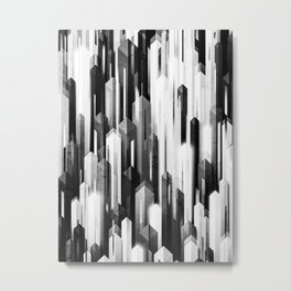 obelisk posture 2 (monochrome series) Metal Print