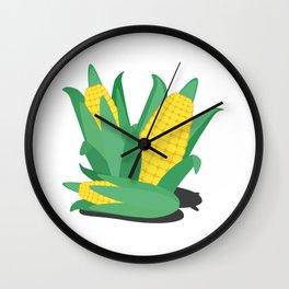 Farmers Corn Wall Clock