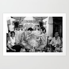 Cambodian Wedding n°2 Art Print