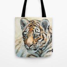 Tiger Cub 865 Tote Bag