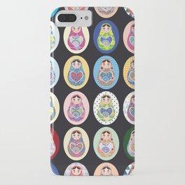 cute doll babushka matryoshka iPhone Case