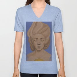 The Curses of Diamonds and Rings Unisex V-Neck