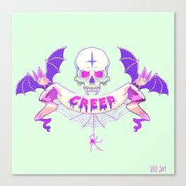 Pastel Creep Canvas Print